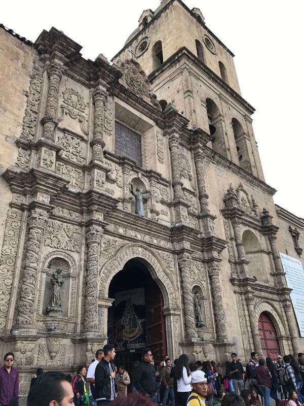 catedral, la paz, bolivia