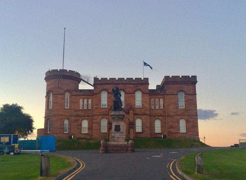 Castillo de Inverness - Castillos de escocia