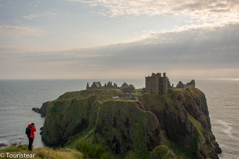Dunnottar Castle, Beautiful castle in Scotland, close to Aberdeen