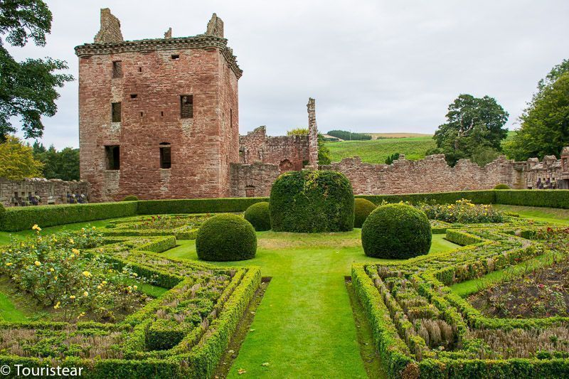 Edzell Castle - Castillos de Escocia
