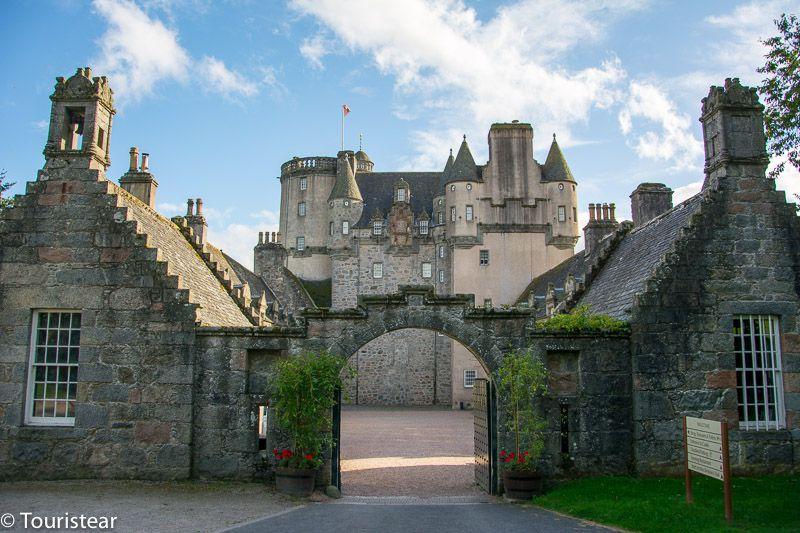 Fraser Castle - Castillos de Escocia