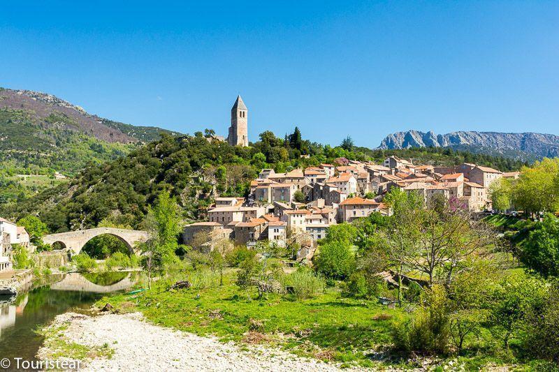 Olargue Pueblos mas bonitos de francia, sur de francia, pueblos más bonitos del sur de francia