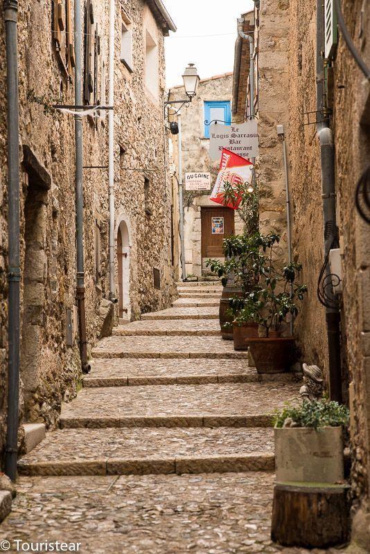 Saint Agnes pueblos mas bonitos francia