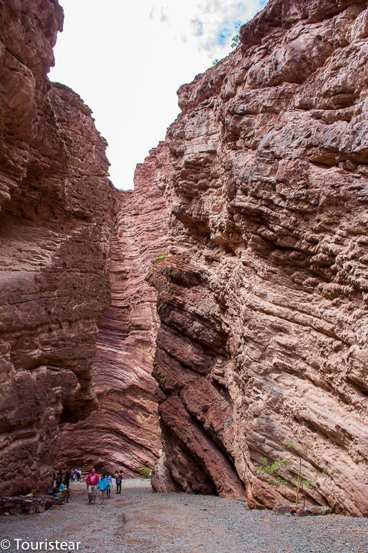 valles calchaquies quebrada de las conchas, salta, argentina