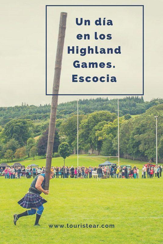 1 dia en los highland games de escocia