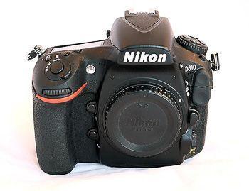 Camara de fotos profesional nikon 810