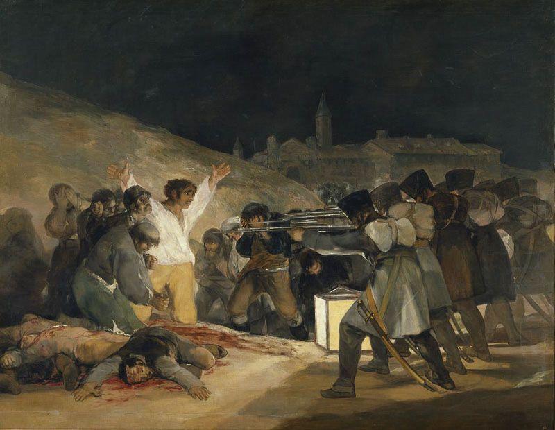 El 3 de Mayo Goya Museo del Prado