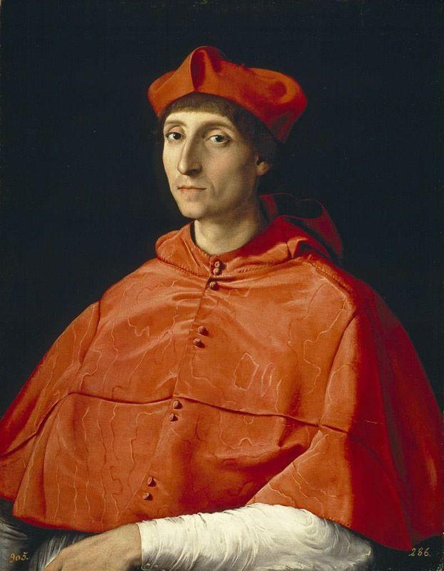 El cardenal Rafael Museo del Prado