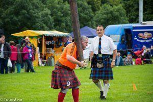 Un día en los Highland Games, Escocia