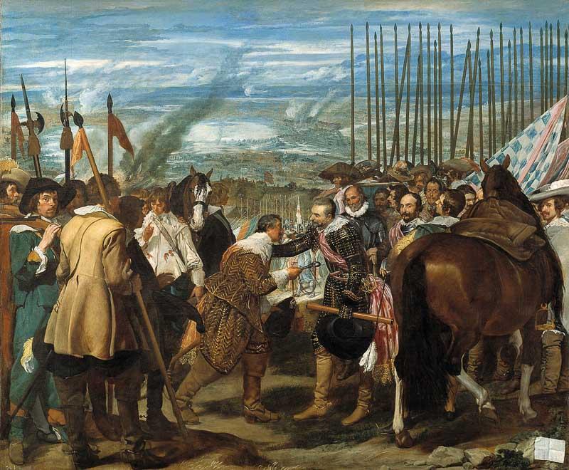 La Rendicion de Breda Museo del Prado
