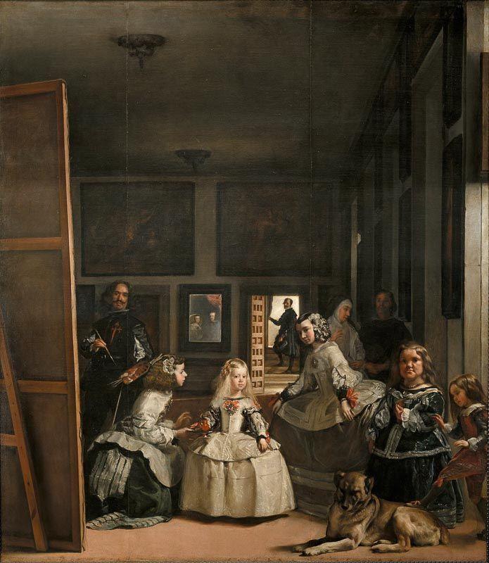 Las Meninas Diego Velazquez Museo del Prado