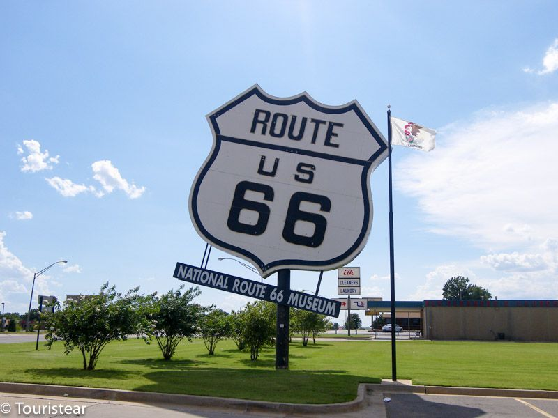 Route 66, museum poster