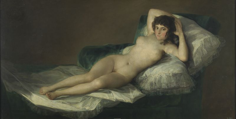 La Maja desnuda Museo del Prado