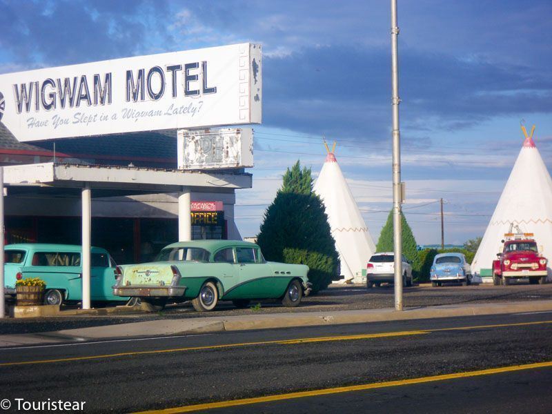 ruta 66, wigwam motel