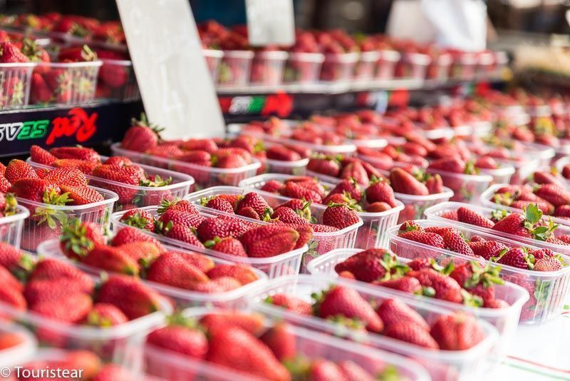 Mercado de las Flores, Niza, costa azul, francia