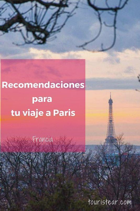 Paris recomendaciones
