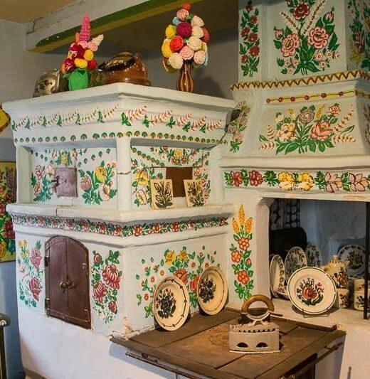 Zalipie Casa Pintada
