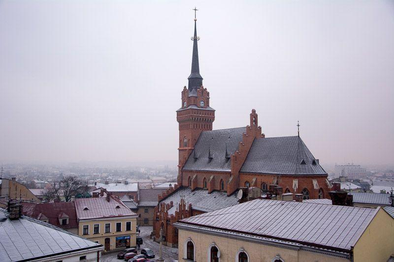 Zalipie Tarnow Basilica