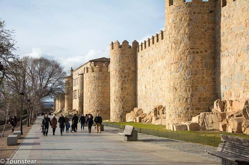 muralla de avila, que ver en Avila
