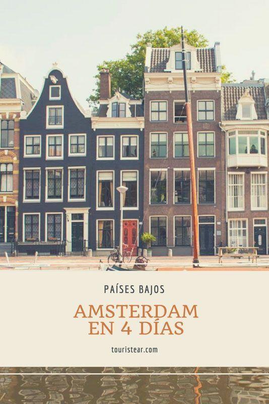 Amsterdam en 4 dias, amsterdam, Paises Bajos