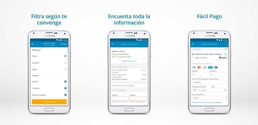 comprar pasajes en la app de OMIO