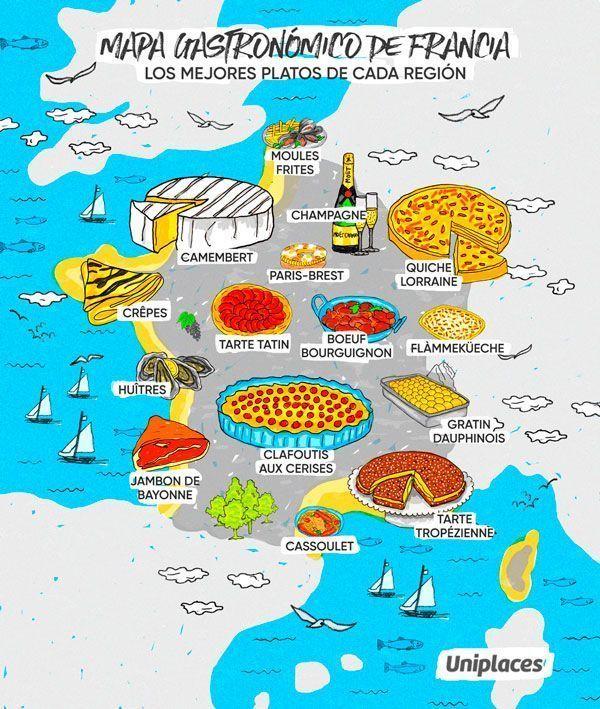 Gastronomia europea, francia