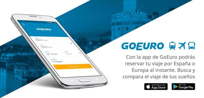 goeuro, apps de viaje