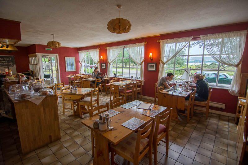 Northcoast 500 - Carron Restaurant Inside