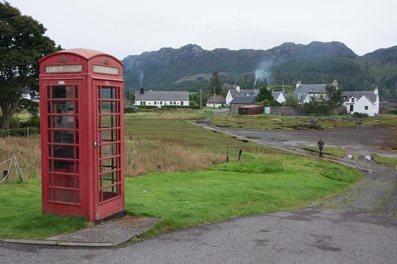 North coast 500, - Plockton Cabina