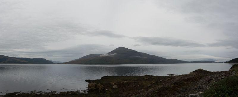Northcoast 500 - Vista desde Eliean Donan Castle