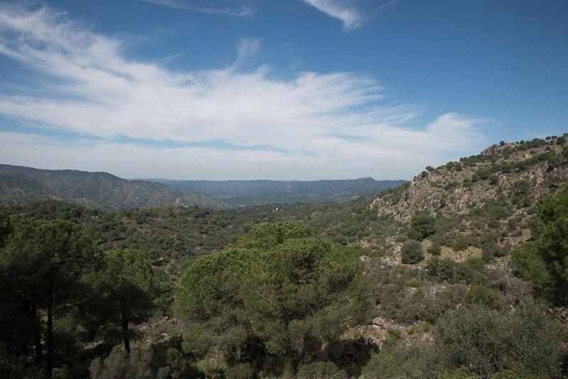 Parque Nacional Sierra Andújar, Sierra de Andújar