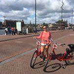 La experiencia de recorrer Amsterdam en bicicleta