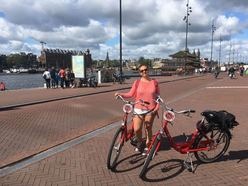 Amsterdam en bicicleta, viajar de una manera más ética y responsable