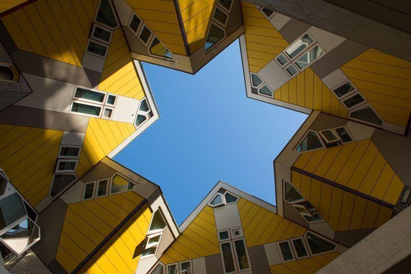 cube houses, rotterdam, holanda, paises bajos