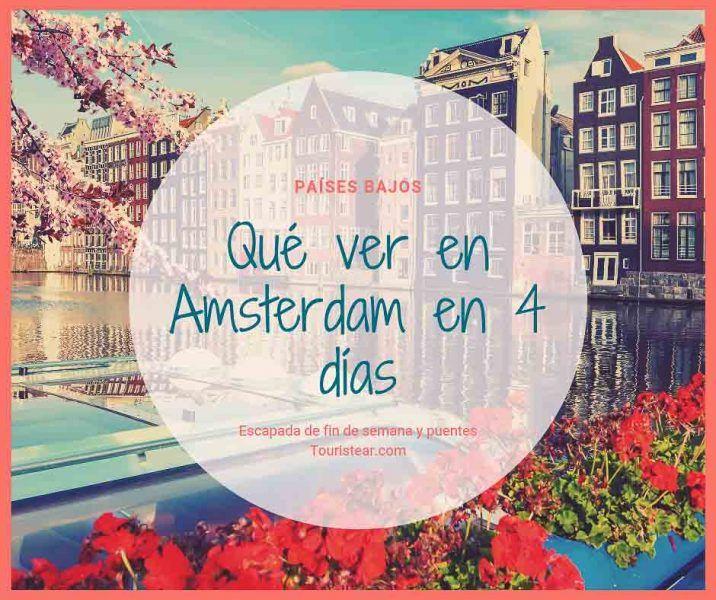 guias de viaje, que ver en amsterdam, Países Bajos