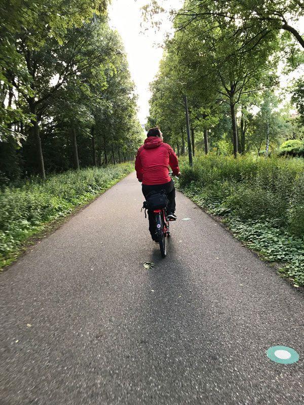 recorrer amsterdam en bicicleta