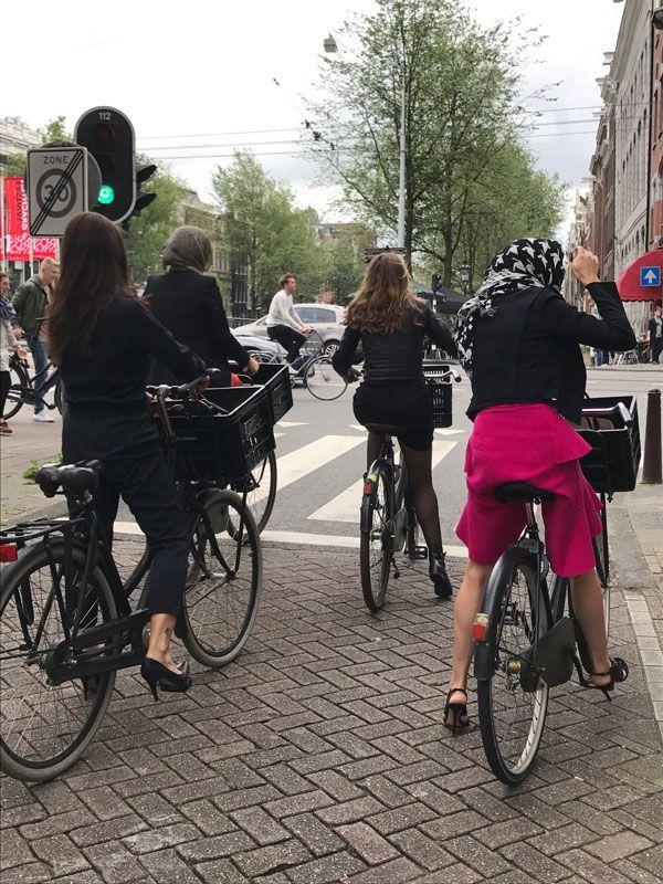 recorrer amsterdam en bici