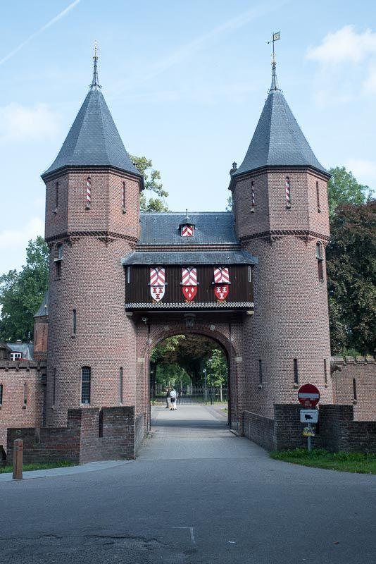 Castillo de Haar Entrada