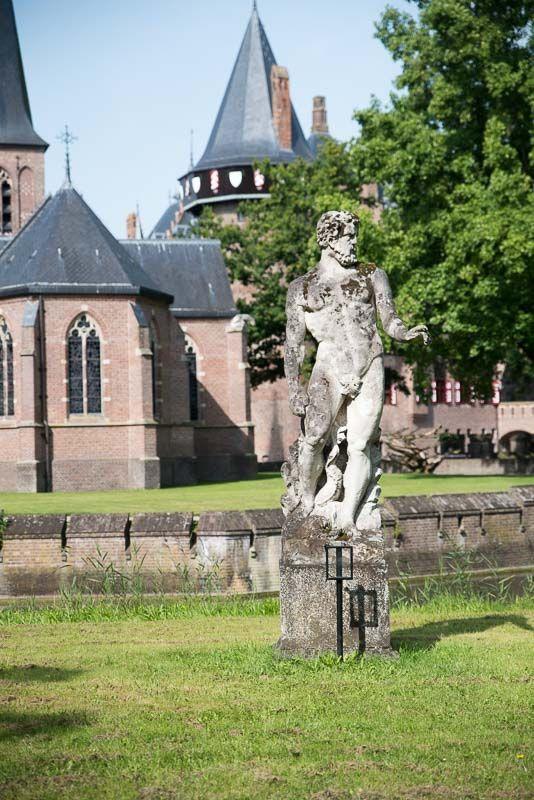 Castillo de Haar - Estatua