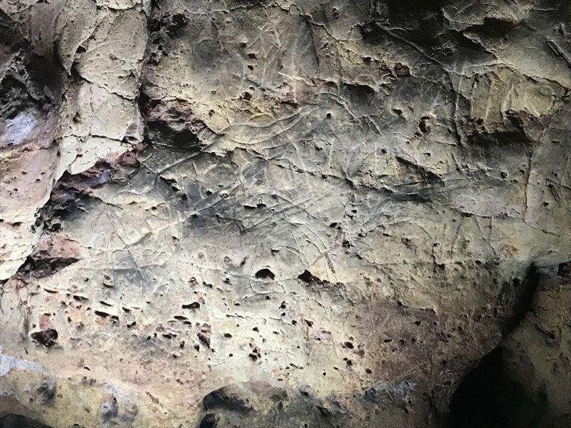 pintura rupestre, geoparque de molina, guadalajara