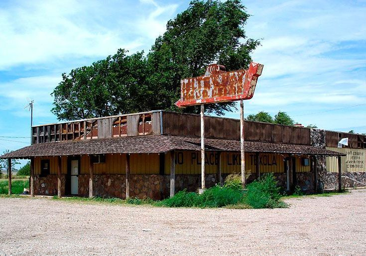 Ghost Towns, Route 66, Texola