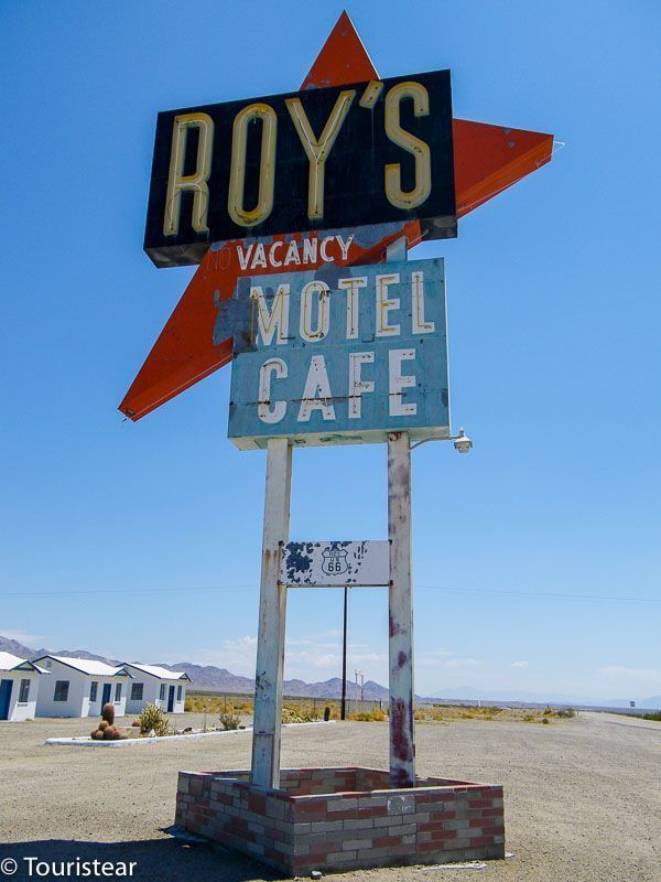 Ghost towns, route 66, amboy