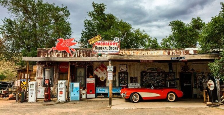 Ghost Towns, Route 66, Hackberry