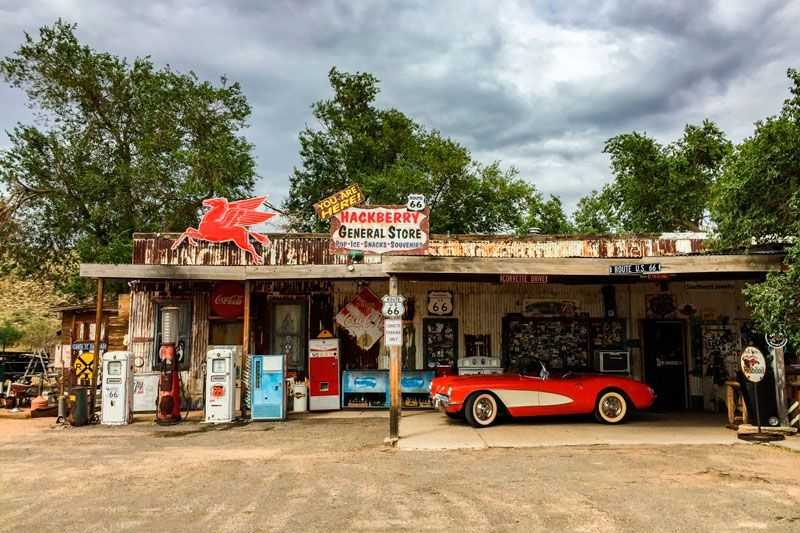 15 Ghost Towns on Route 66 + MAP