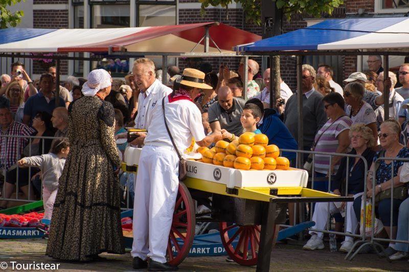 Edam, mercado del queso, laag Holland, Paises Bajos