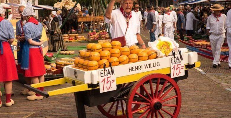 Edam, mercado del queso de Edam