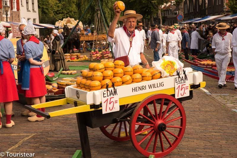Cheese Route in the Netherlands: Gouda, Edam and Alkmaar