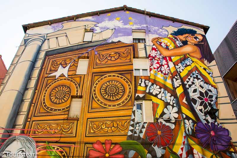 mural de vitoria gasteiz