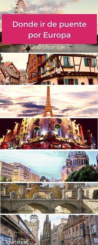 viajes por europa en puente