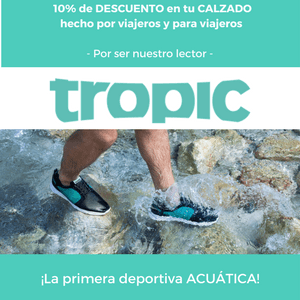 zapatillas tropic